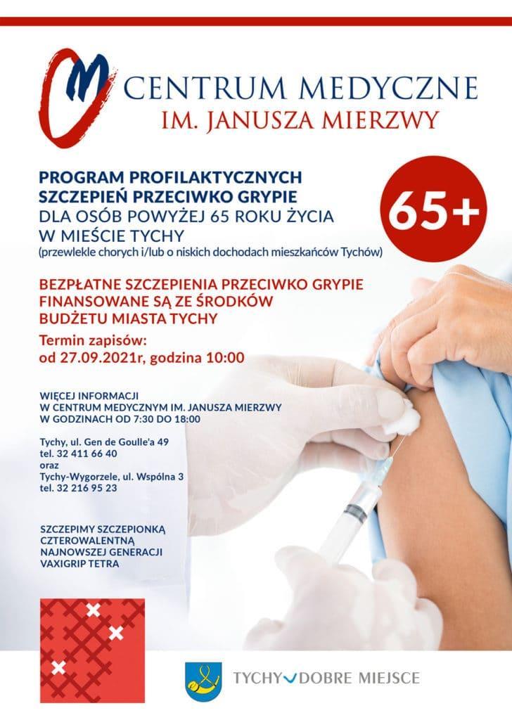Program Profilaktycznych szczepień przeciwko Grypie – program Urzędu Miasta Tychy